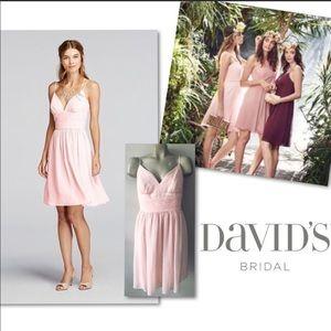 David's Bridal Plus Size Bridesmaids Dress Size 22